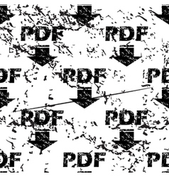 Pdf download pattern grunge monochrome vector