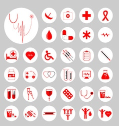 Medical icons 01 vector