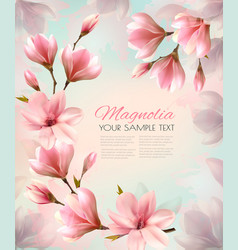 Abstract spring background with beautiful vector