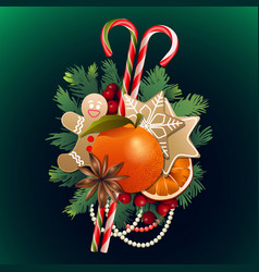 Christmas sweet design vector