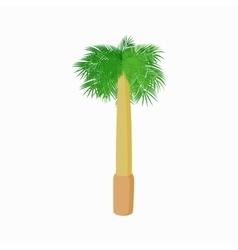 Royal palm icon cartoon style vector image vector image