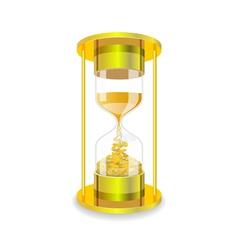 Sandglass vector