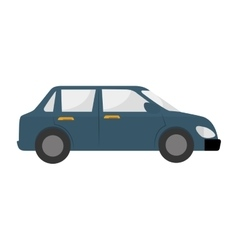 car side auto vehicle icon graphic vector image