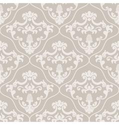 Seamless classic design wallpaper vector