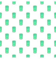 Door of safe pattern cartoon style vector