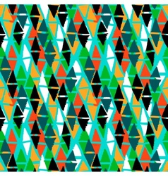 Seamless bold harlequin pattern vector