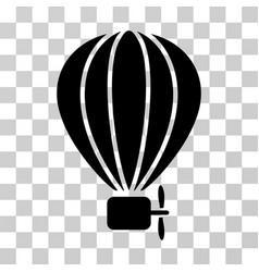 Aerostat balloon icon vector