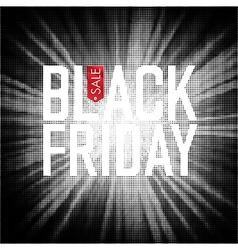 Black friday sales advertising poster vector
