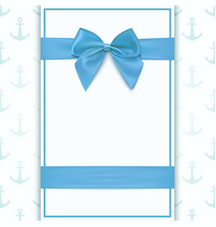 Blank greeting card template vector
