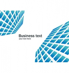 business background vector image vector image