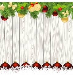 card for the christmas vector image