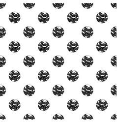 Round planet pattern vector