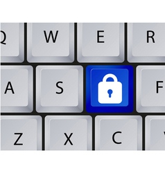 Keyboard buttons vector image