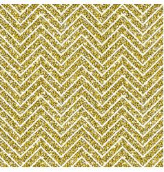gold glitter chevron pattern background vector image