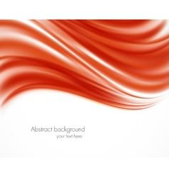 Abstract red wavy backround vector