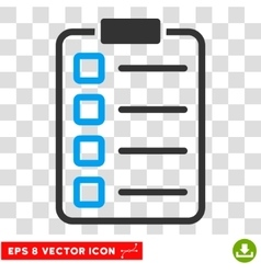 Examination eps icon vector