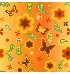 seamless wallpaper new vector image vector image