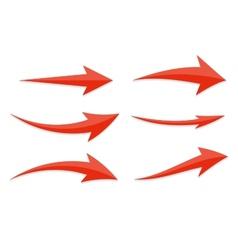 Arrow Icon Sign Set vector image