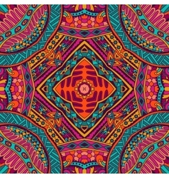 Abstract ornametal ethnic tribal pattern vector