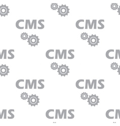 New cms seamless pattern vector