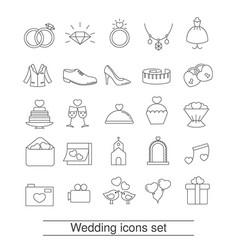 Outline web icon set outline web icon set vector
