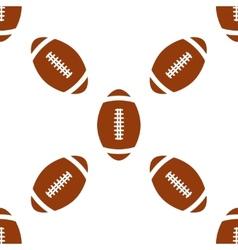 Universal american football seamless vector image vector image