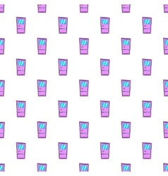 Door pattern cartoon style vector