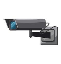 security camera icon cartoon style vector image