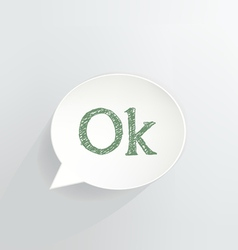 Ok Sign vector image