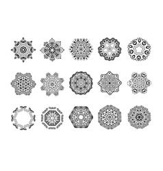 Circular pattern mandala vector
