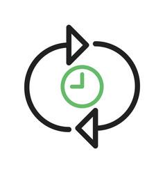 Time optimization vector