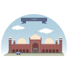 Lahore vector image