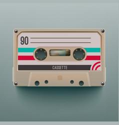 Cassette Icon vector image