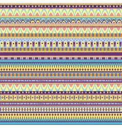 ethnic geometric pattern vector image vector image