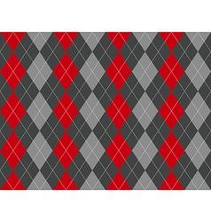 Gray argyle seamless pattern vector