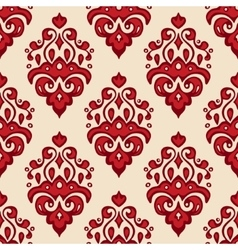 Seamless luxury damask pattern vector