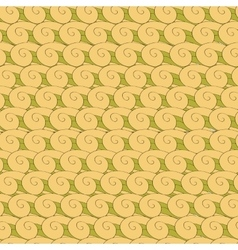 Vortex whorl seamless pattern vector