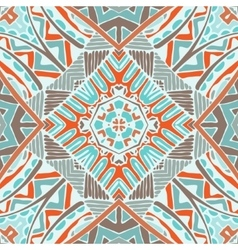 abstract geometric seamless tile pattern vector image