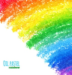 Oil pastel background vector