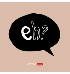 Modern style speech bubbles for labels stickers vector