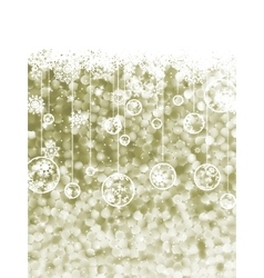 Elegant christmas background with snowflake eps 8 vector
