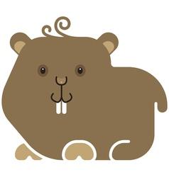 Hamster icon vector