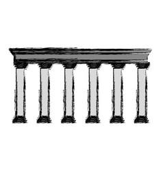 Pillars icon image vector