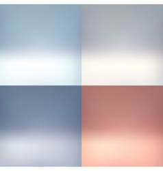 Empty photographer studio background Abstract set vector image