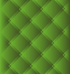 Green checked fabric tablecloth background vector