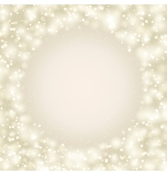 Abstract shining background frame vector image