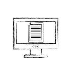 Figure electronic document information inside vector