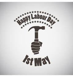 Labour Day Emblem vector image
