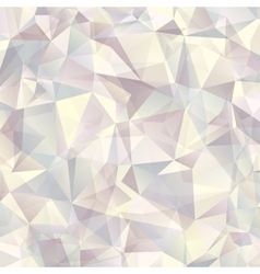 Triangle geometric neutral background vector image
