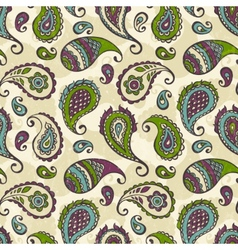 Paisley hand-drawn ornament vector image